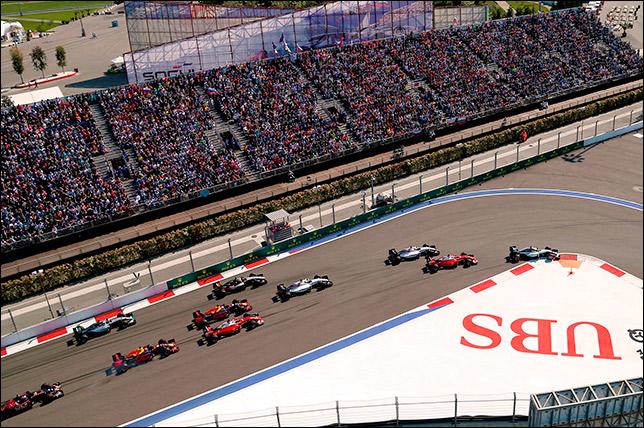Началась продажа билетов наГран-при РФ «Формула-1»