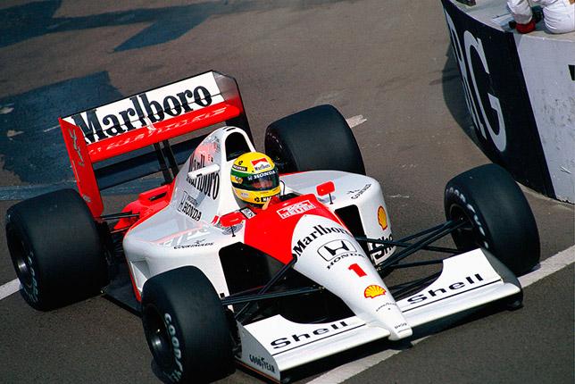 Айртон Сенна на Гран При США 1991 года