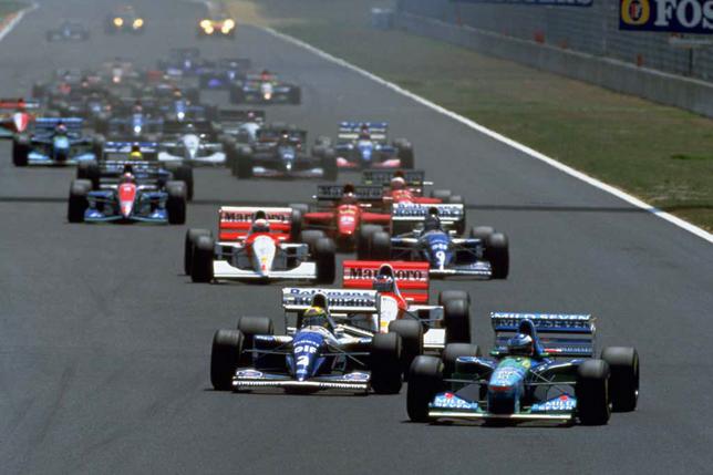 Старт Гран При Тихого океана 1994 года