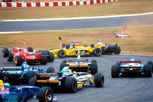Старт Гран При Бразилии 1997 года