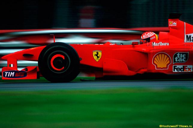 Михаэль Шумахер на Гран При Канады 2000 года