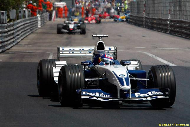 Хуан-Пабло Монтойя на Гран При Монако 2003 года