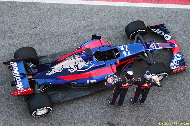 Презентация Toro Rosso STR12