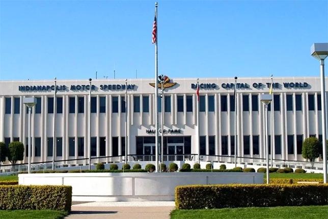 Зал славы музея автодрома Indianapolis Motor Speedway