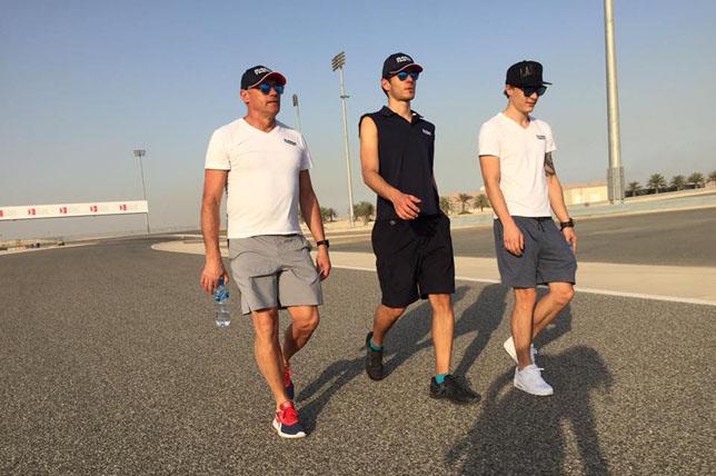 119657 - Формула 2: Состав участников тестов в Бахрейне