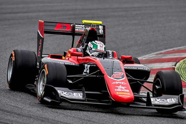 GP3: Фукудзуми лучший в первый день тестов в Барселоне