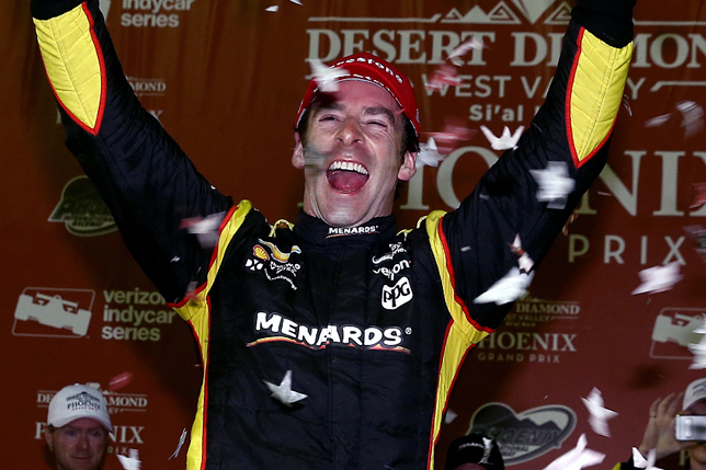 Пажено одержал победу гонку четвертого этапа серии Indycar, Алешин устроил трагедию