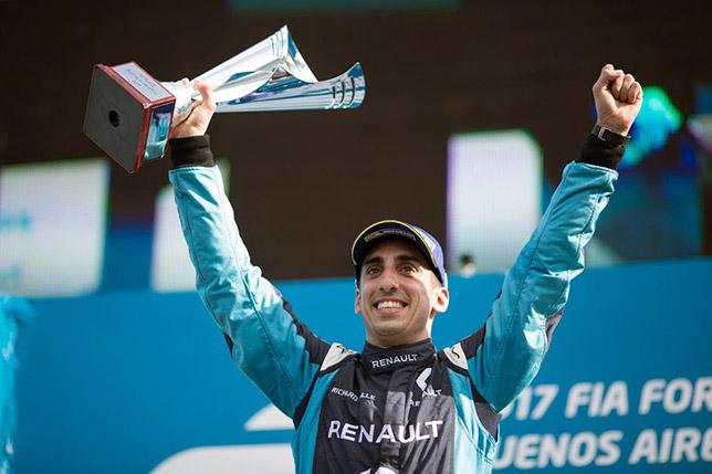 120795 - Формула E:  Буэми выиграл гонку в Монако