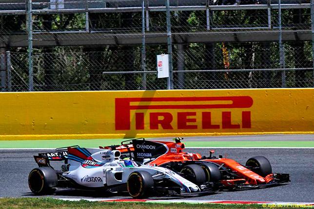 Столкновение Фелипе Массы и Стоффеля Вандорна на Гран При Испании