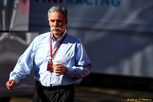 Чейз Кэри, исполнительный директор Формулы 1