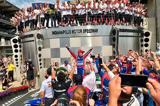 Indy 500: Сато 1-ый, Алонсо выбыл, аАлёшин— 13-й