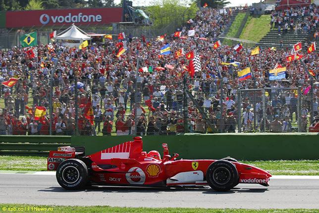 Михаэль Шумахер - победитель Гран При Сан-Марино 2006 года