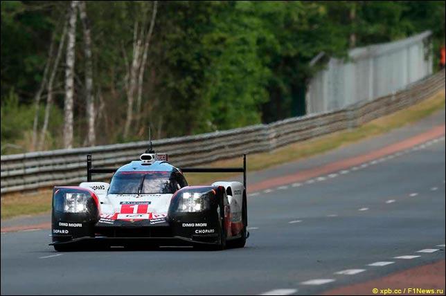 Команда Порш  в19-й раз выиграла суточный автомарафон «24 часа ЛеМана»