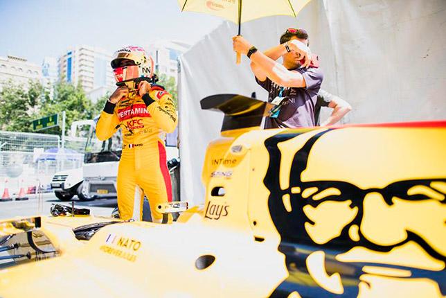 Ф2: Нато выиграл спринт в Баку, Сироткин пятый
