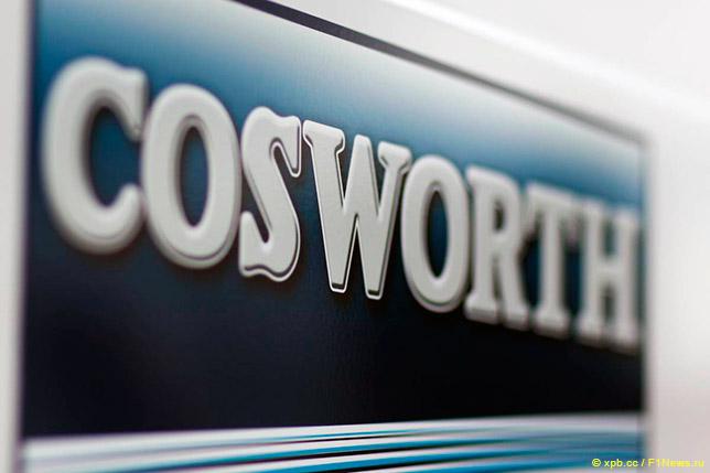 Астон Мартин иCosworth впервый раз побывали насъезде мотористов Формулы-1