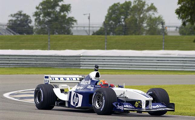 Джеф Гордон за рулём Williams Хуана-Пабло Монтойи, 2003 год