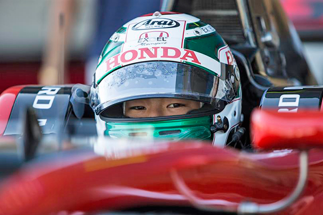 GP3: Фукудзуми выиграл субботнюю гонку в Хересе