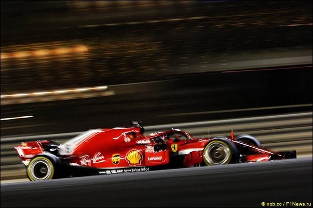 Риккардо стал лучшим впервой практике Гран-при Бахрейна