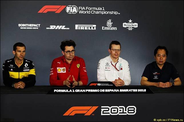 Гран При Испании: Пресс-конференция в пятницу