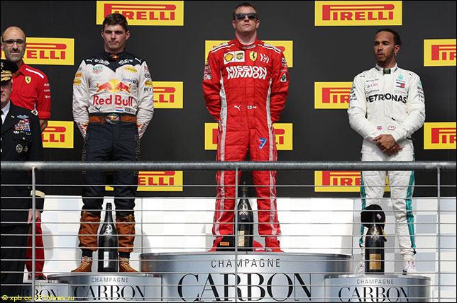 Подиум Гран При США
