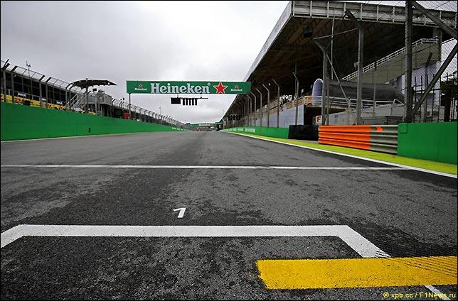 Стартовое поле Гран При Бразилии 2018