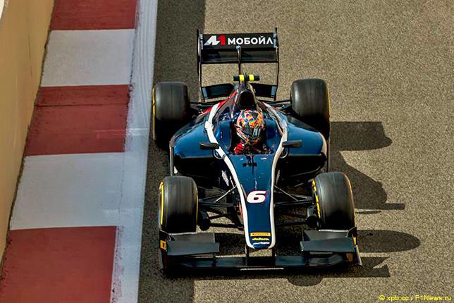 Артём Маркелов завоевал первый поул в Формуле 2