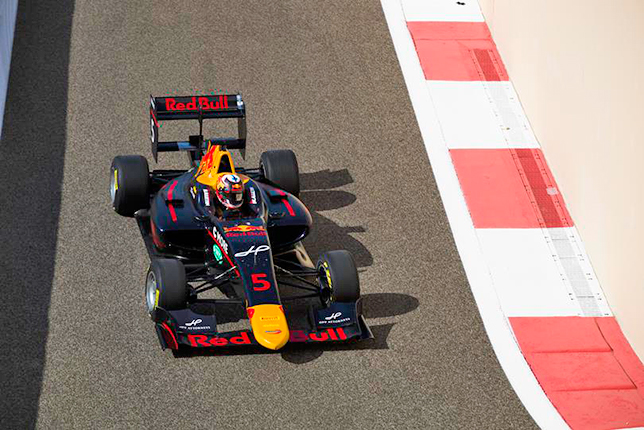 GP3: Нико Кари выиграл субботнюю гонку в Абу-Даби