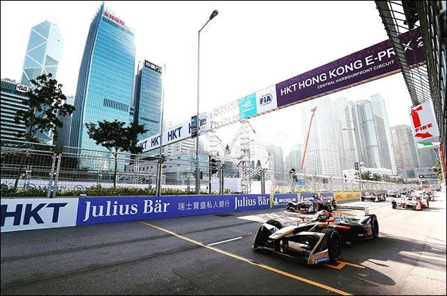 Проблемы уик-энда Формулы Е в Гонконге