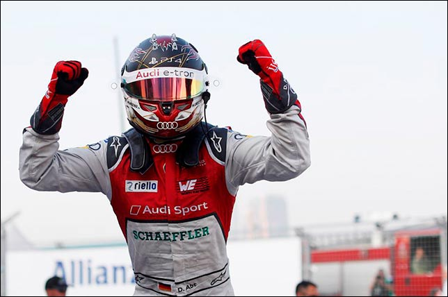 Формула Е: Даниэль Абт выиграл вторую гонку в Гонконге