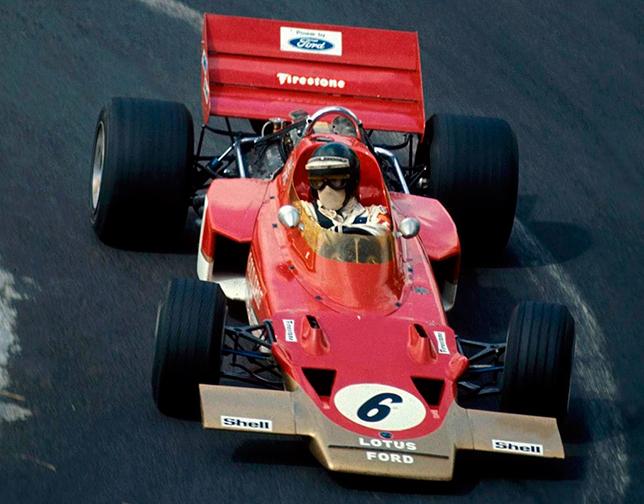 Йохен Риндт на Гран При Франции 1970 года