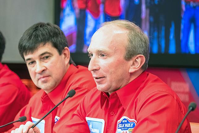 Владимир Чагин на пресс-конференции в Москве