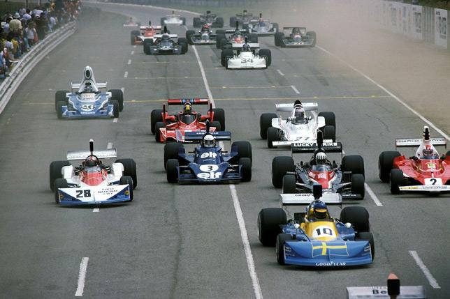Старт Гран При ЮАР 1976 года