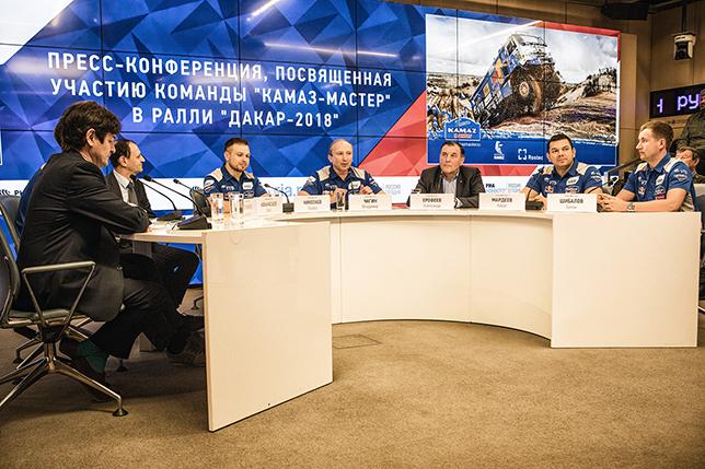В «КАМАЗ-мастер» рассказали о планах на «Дакар-2018»