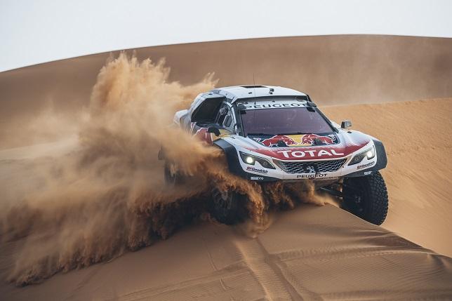 Peugeot 3008 DKR Maxi на тестах в Марокко