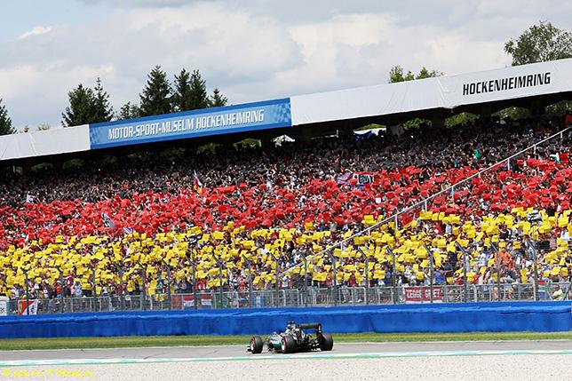 В 2018-м в календарь возвращается Гран При Германии, последний раз состоявшийся в 2016 году