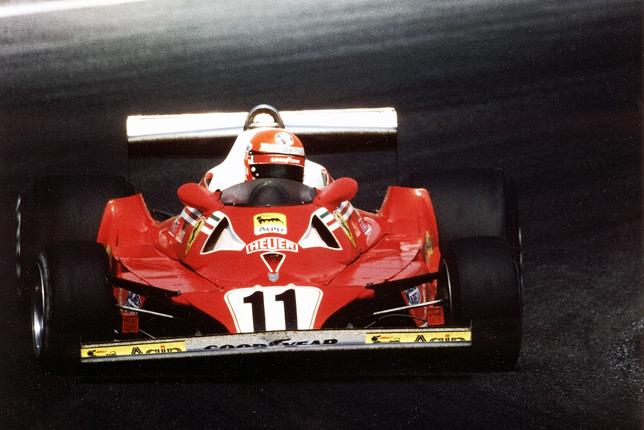Ники Лауда на Гран При Германии 1977 года