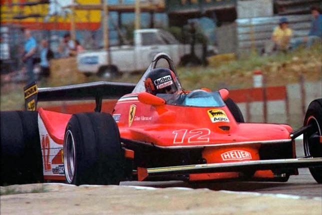Жиль Вильнёв на Гран При ЮАР 1979 года