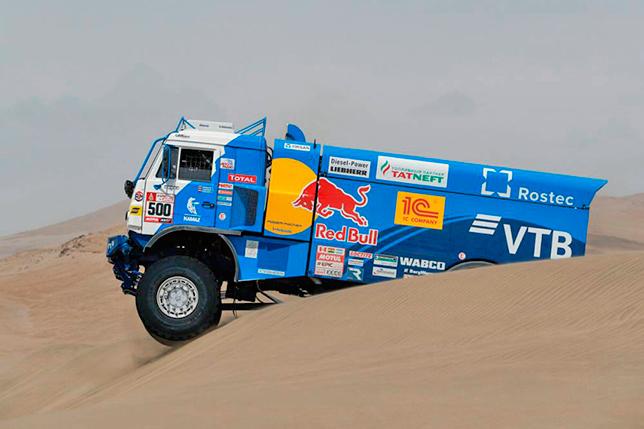 Эдуард Николаев на четвёртом этапе ралли-рейда «Дакар-2018»