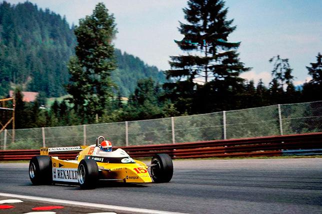 Жан-Пьер Жабуй на Гран При Австрии 1980 года