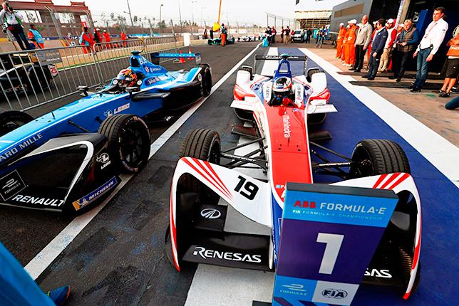 Формула E: Феликс Розенквист победил в Марракеше
