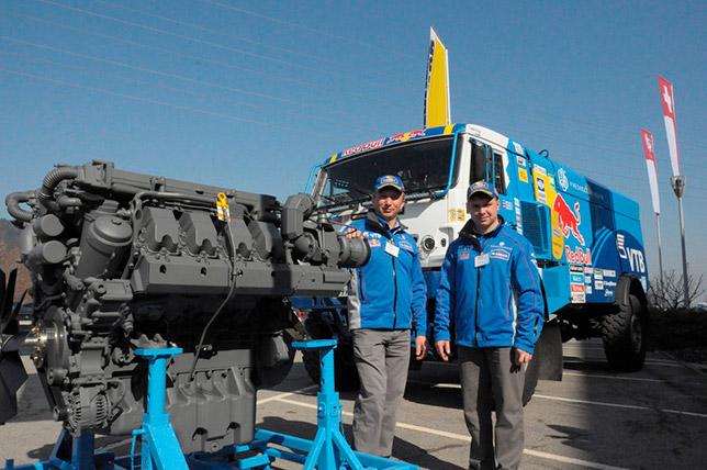 Двигатель Liebherr команды «КАМАЗ-мастер»
