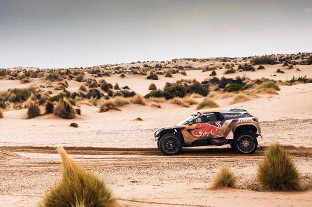 Стефан Петрансель на седьмом этапе ралли-рейда Дакар-2018