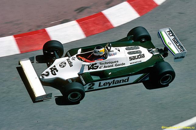 Карлос Ройтеман на Гран При Монако 1981 года