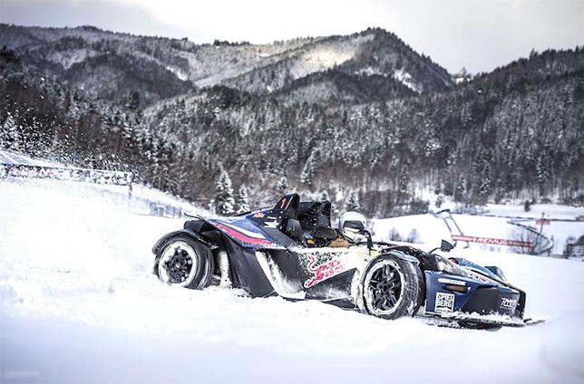 Любители острых ощущений могут покататься на KTM X-Bow в окрестностях Red Bull Ring