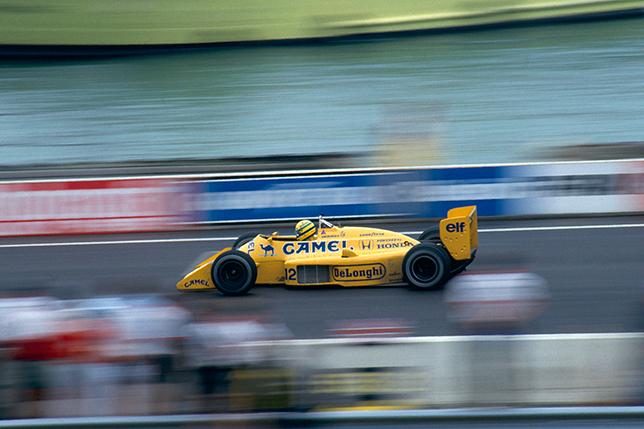 Айртон Сенна на Гран При Детройта 1987 года