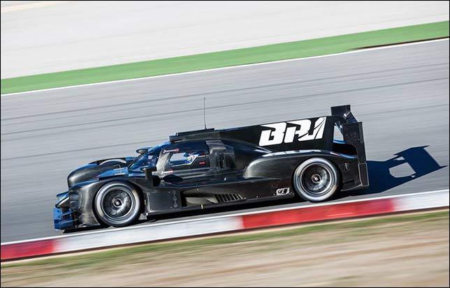 В Испании начались двухдневные тесты прототипа BR1