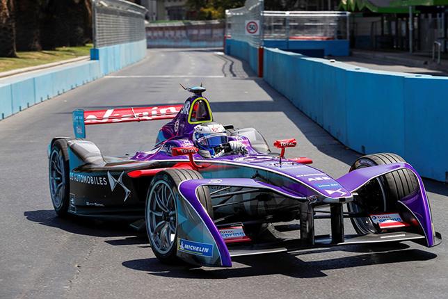 Формула E: Гонщики отметили сложность трассы в Чили