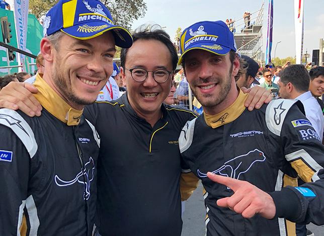 Формула E: Победный дубль гонщиков Techeetah