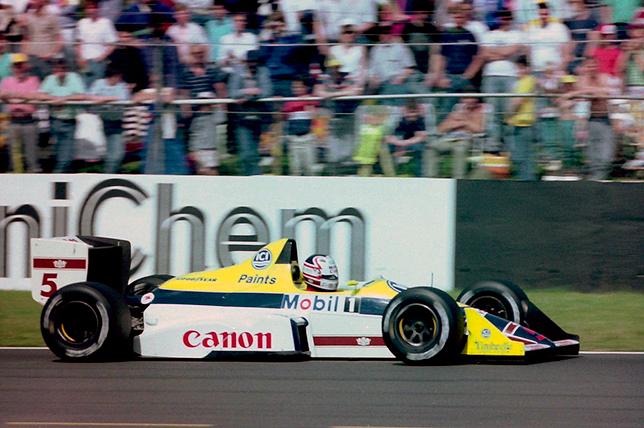 Найджел Мэнселл на Гран При Великобритании 1988 года