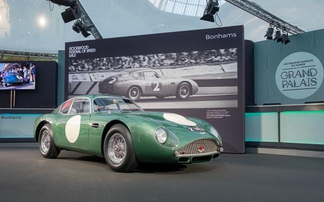 Aston Martin DB4GT Zagato в оригинальных цветах команды Essex Racing